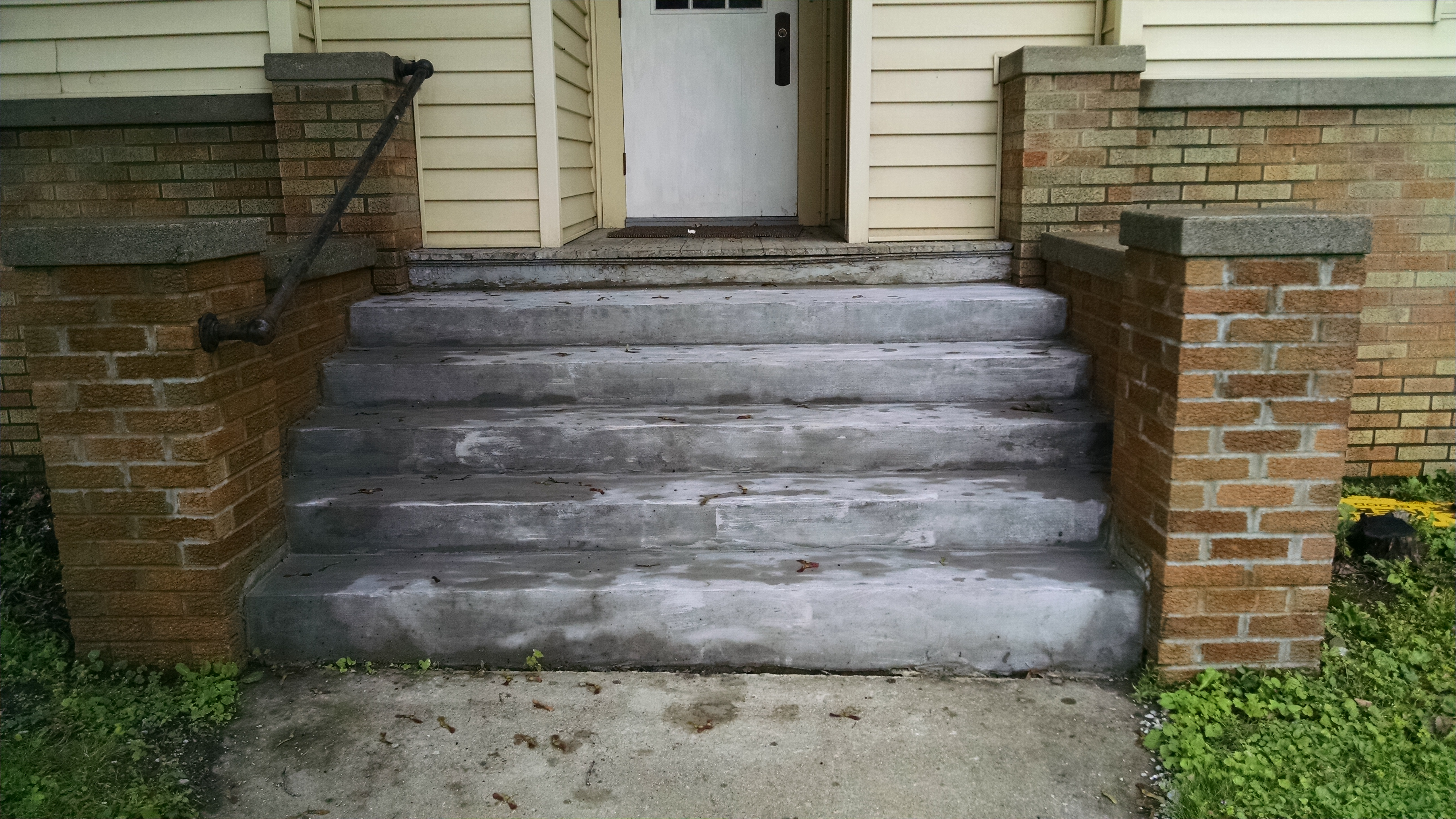 Concrete Step Repair - After