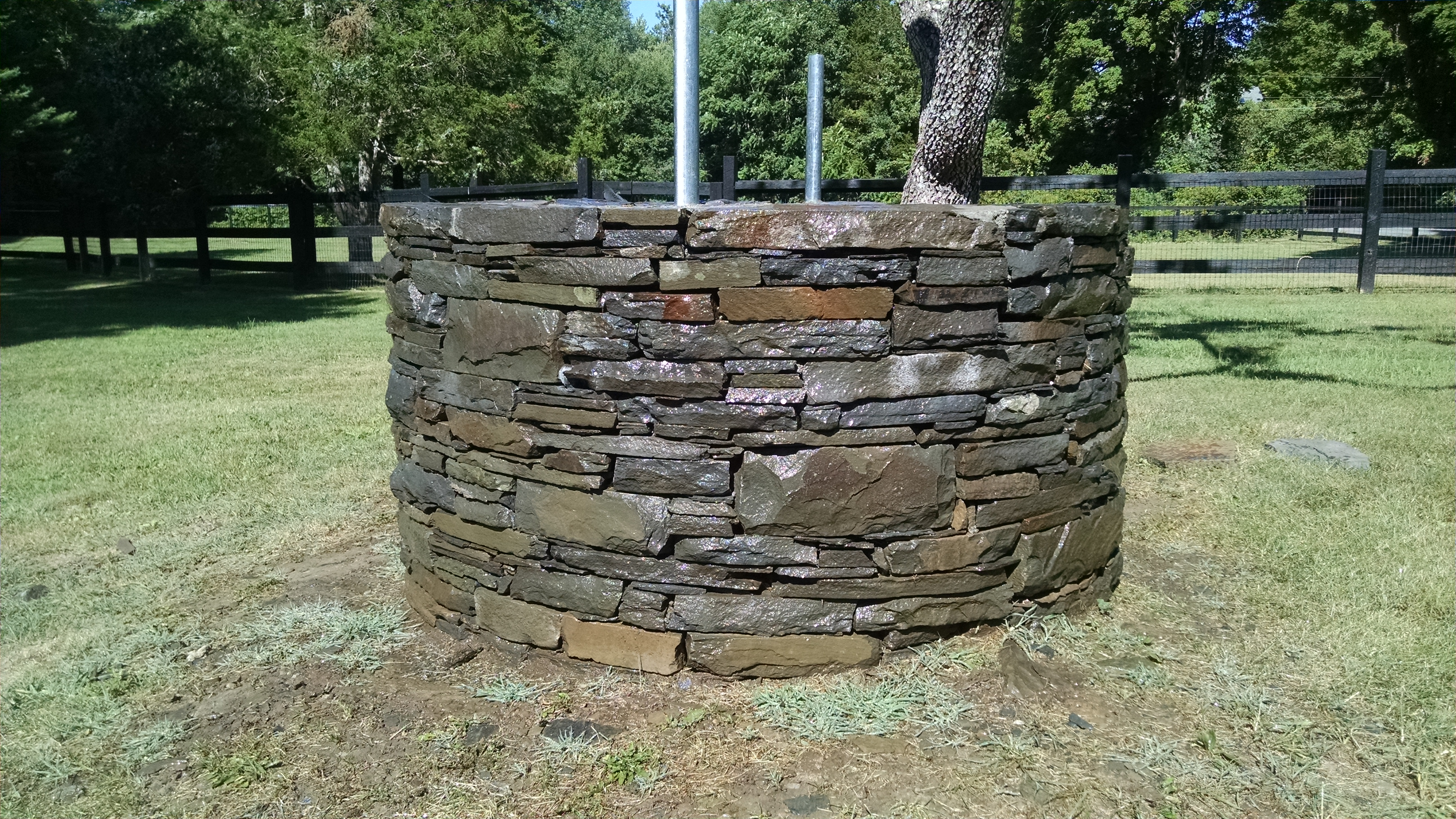 Natural Stone Well